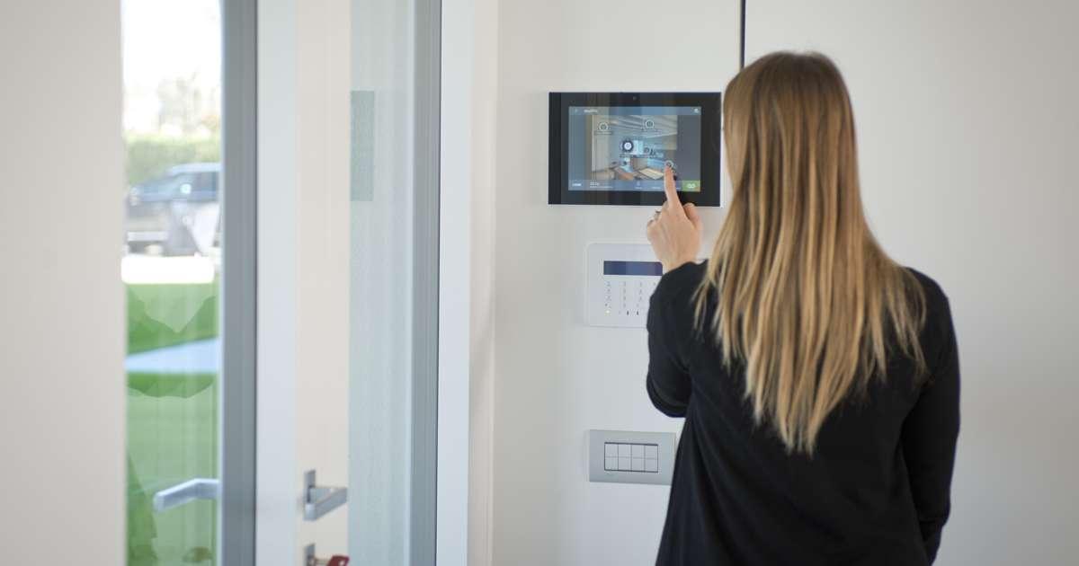 Appartamento domotico salerno impianti di domotica sicurezza