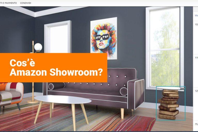 Amazon Showroom: Scegliere i Mobili con la Realtà Virtuale
