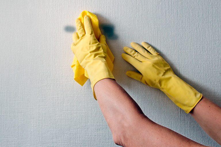 come pulire i muri senza imbiancare